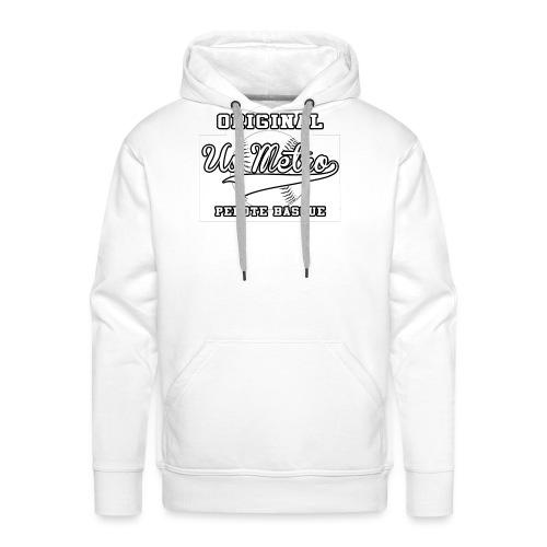 origiinalUSMETRO2 png - Sweat-shirt à capuche Premium pour hommes