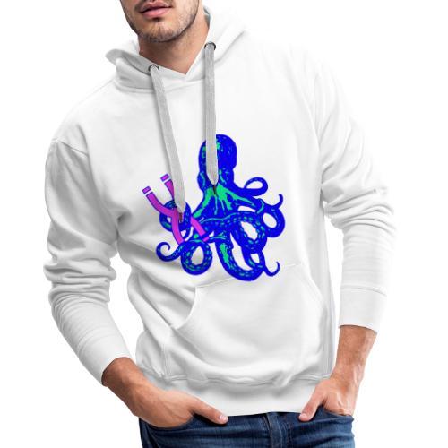 Deep Sea X - Felpa con cappuccio premium da uomo