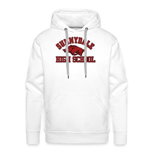 Sunnydale High School logo merch - Mannen Premium hoodie