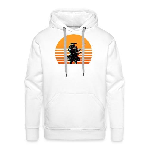 Samurai Sunset yellow - Männer Premium Hoodie