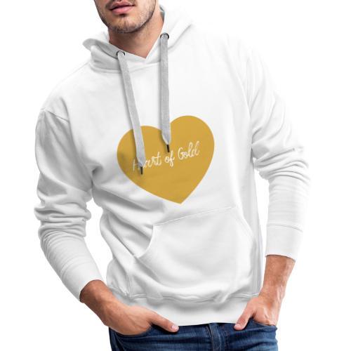Heart of Gold - Gesetz der Anziehung - Männer Premium Hoodie