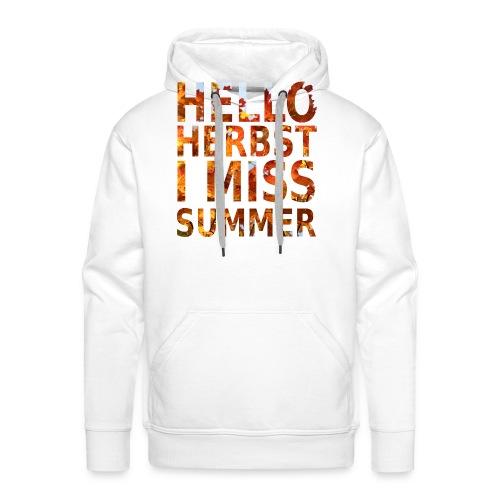 Hello Herbst - Männer Premium Hoodie