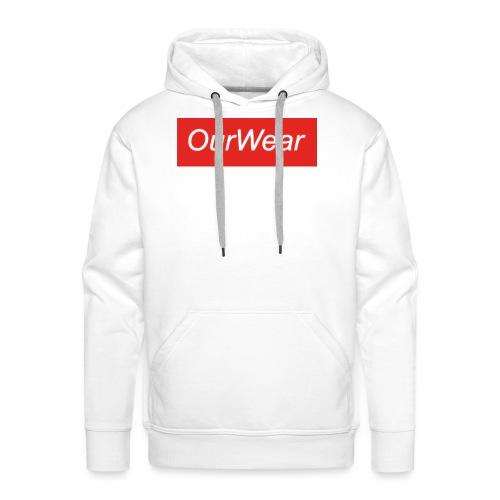 Red OurWear Merch - Premiumluvtröja herr