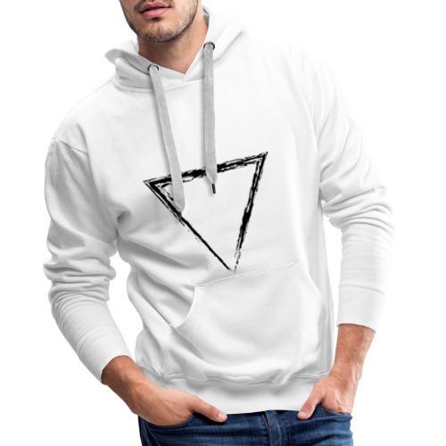 Triangle - Sudadera con capucha premium para hombre