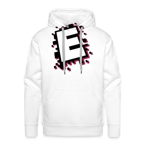 design_E_white_black_pink - Men's Premium Hoodie