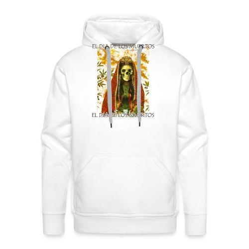 El Dia De Los Muertos Skeleton Design - Men's Premium Hoodie
