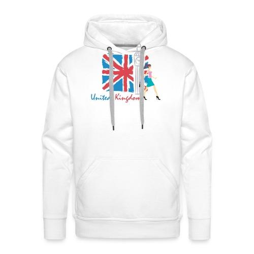 Funny United Kingdom Shopping Shirt - Men's Premium Hoodie