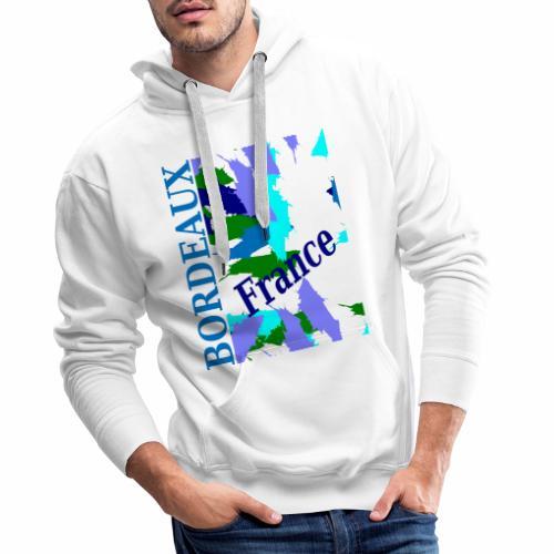 Bordeaux - New design - Men's Premium Hoodie