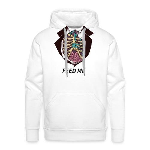 feed me zombiebauch - Männer Premium Hoodie