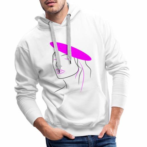 Pink woman - Men's Premium Hoodie
