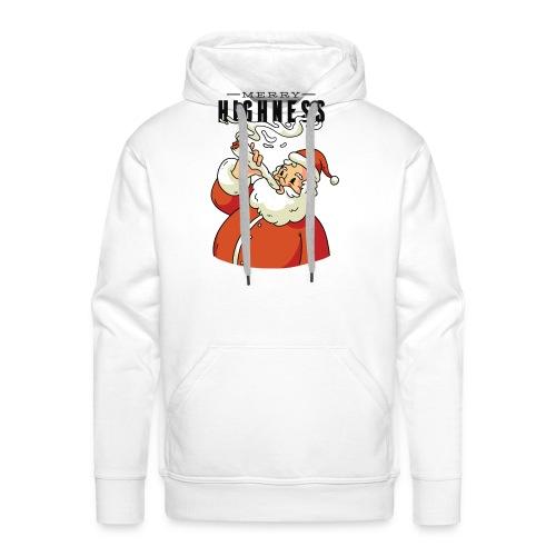 Merry Highness Weihnachtsmann Ugly Xmas - Männer Premium Hoodie