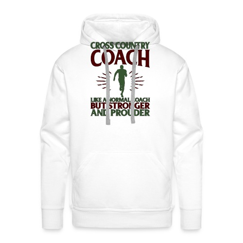 Cross Country Coach Gift Cross Country Coach Like - Men's Premium Hoodie