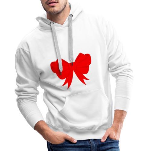 Schleife, Weihnachts Geschenk, Marry Christmas - Männer Premium Hoodie