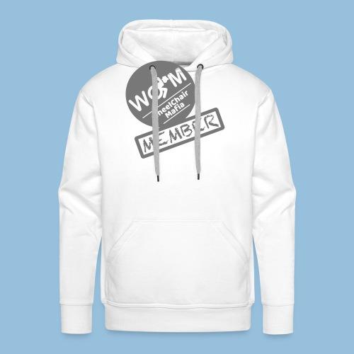 WheelChair Mafia member 001 - Mannen Premium hoodie