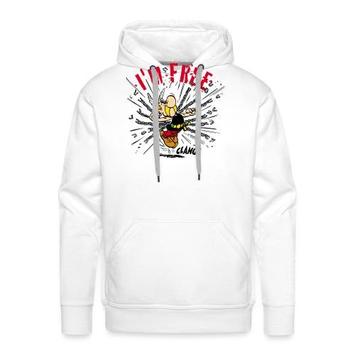 Asterix & Obelix - Asterix 'I'm Free' - Sweat-shirt à capuche Premium pour hommes