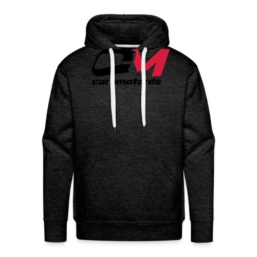 logo blanc cm2012 - Sweat-shirt à capuche Premium pour hommes