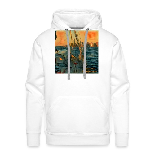 approaching manhattan - Men's Premium Hoodie