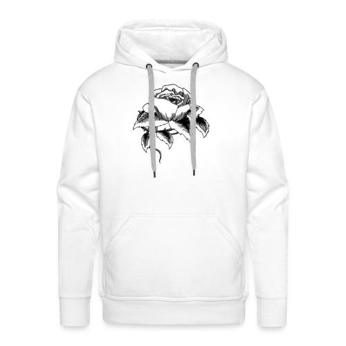 fleur du mal - Sweat-shirt à capuche Premium pour hommes