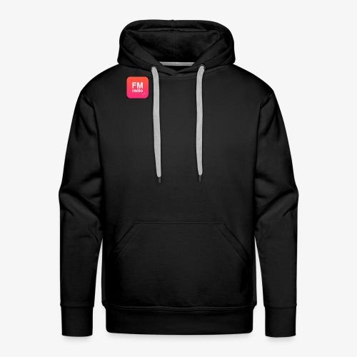 logo radiofm93 - Mannen Premium hoodie