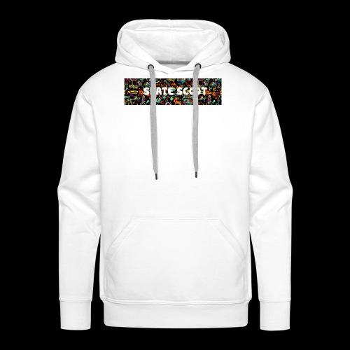 funny logo - Mannen Premium hoodie