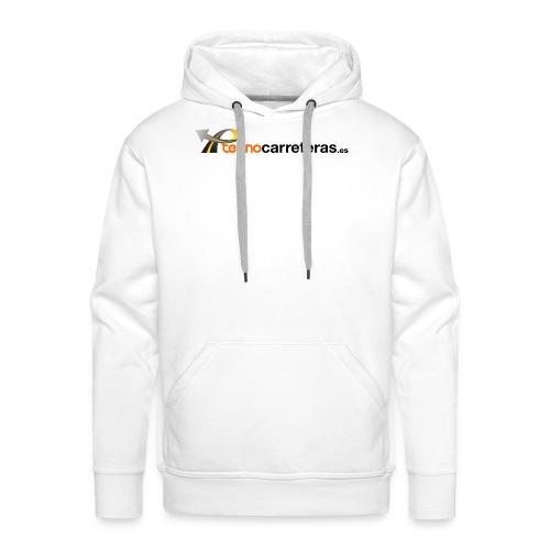 Tecnocarreteras - Sudadera con capucha premium para hombre