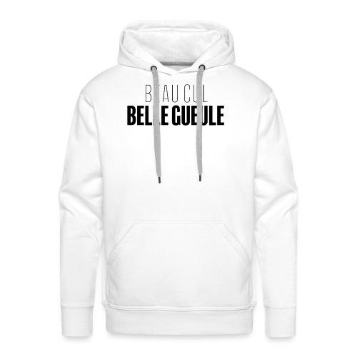 BCBG - Sweat-shirt à capuche Premium pour hommes
