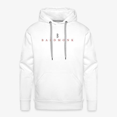 Baldmonk Classic Logo - Men's Premium Hoodie