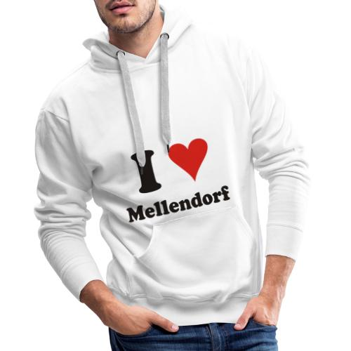 ILoveMellendorf - Männer Premium Hoodie
