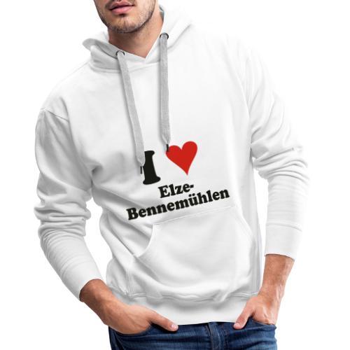 ILoveElzeBennemühlen - Männer Premium Hoodie