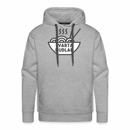 Svarta Nudlar - Männer Premium Hoodie