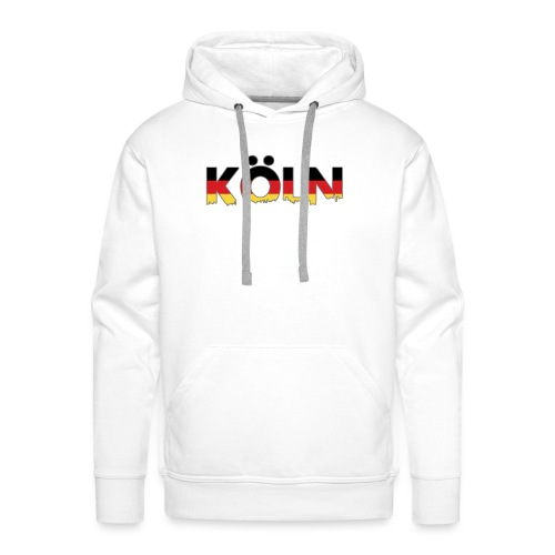 Köln Typografie - Männer Premium Hoodie