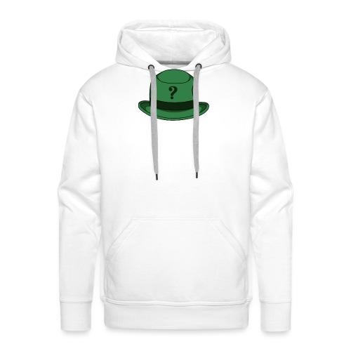 Grüner Rätsel Hut Riddler - Männer Premium Hoodie
