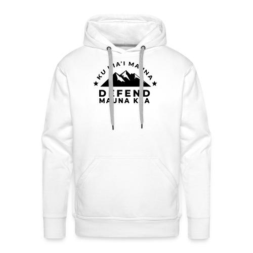Mauna Kea - Sweat-shirt à capuche Premium pour hommes