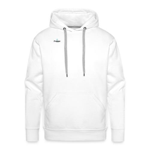 Frappe Mind - Sweat-shirt à capuche Premium pour hommes