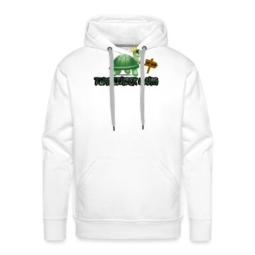 Turtle Neck Design 1 - Men's Premium Hoodie