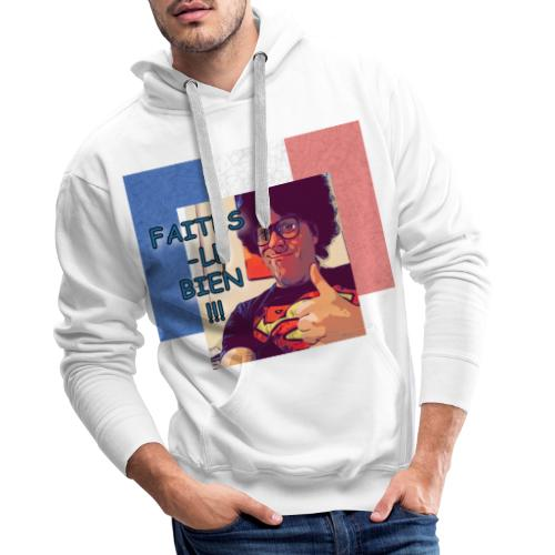Fred - Make It Right French Flag - Männer Premium Hoodie