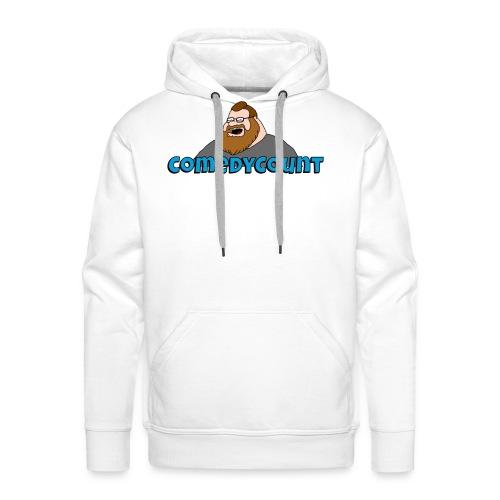 COMEDY LOGO - Herre Premium hættetrøje