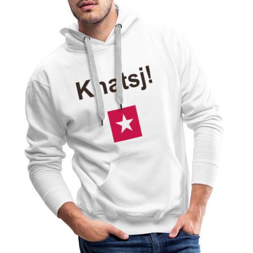 Knatsj mr def b - Mannen Premium hoodie