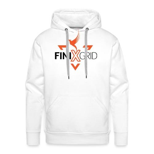 FinixGrid Orange - Men's Premium Hoodie