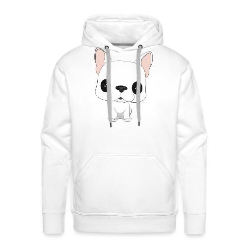 WHITE DUDE - Sweat-shirt à capuche Premium pour hommes