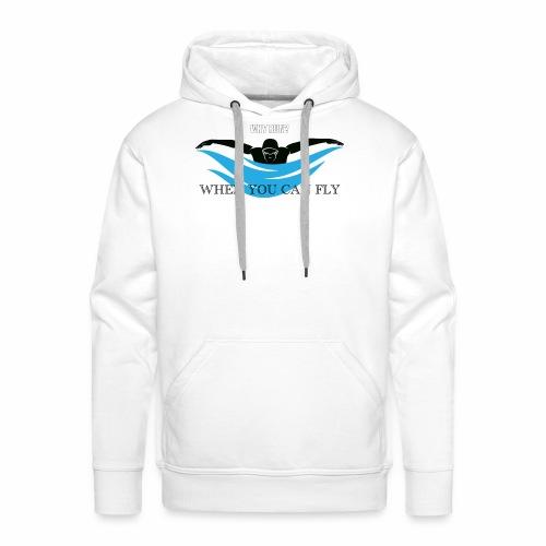 Pourquoi? Why? - Sweat-shirt à capuche Premium pour hommes