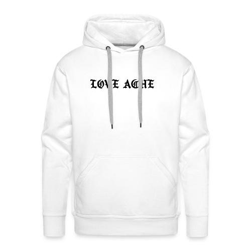 LOVE ACHE - Mannen Premium hoodie