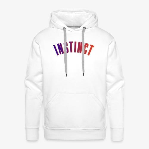 Instinct RAINBOW Print - Männer Premium Hoodie