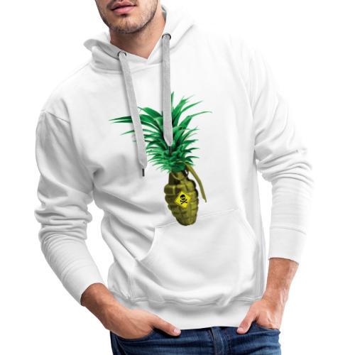 Ananas Granade - Felpa con cappuccio premium da uomo