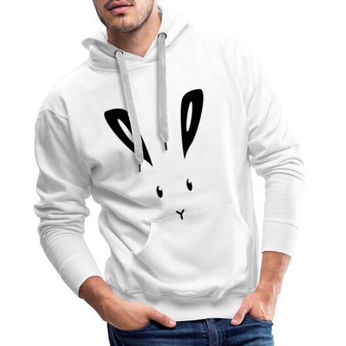 Hase Kaninchen Häschen Osterhase Feldhase bunny - Männer Premium Hoodie