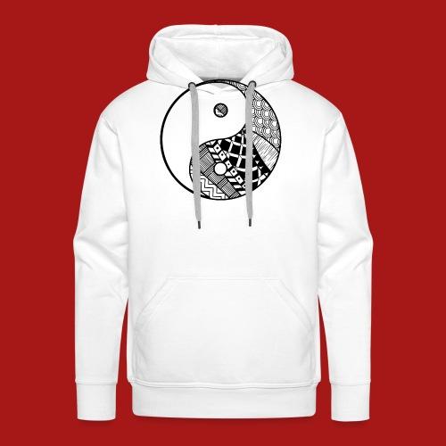 Decorative-Yin-Yang - Herre Premium hættetrøje