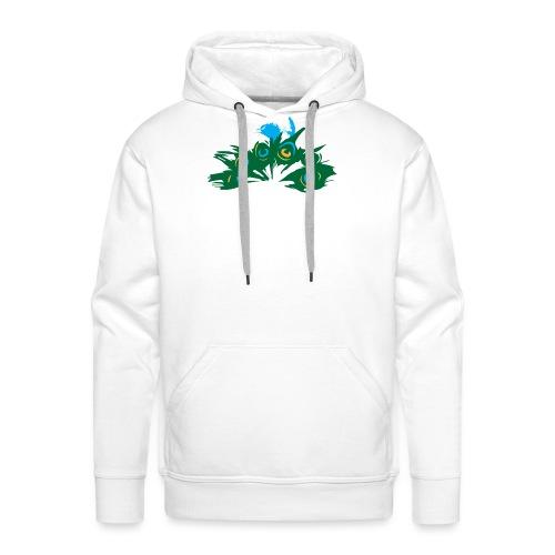 Paon Style - Sweat-shirt à capuche Premium pour hommes