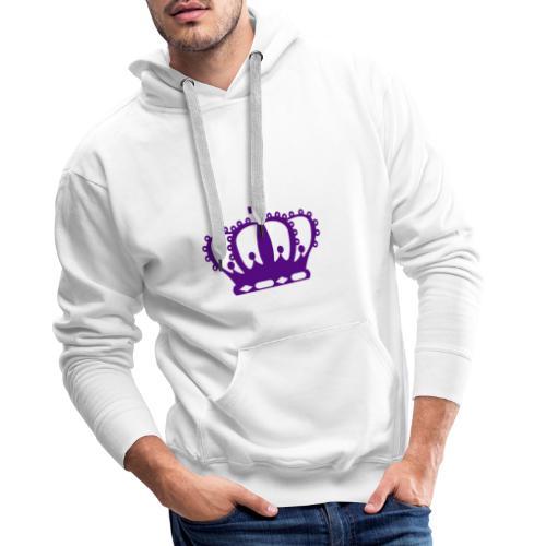 Purple Crown - Men's Premium Hoodie