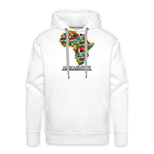 Africaismylife Logo - Men's Premium Hoodie