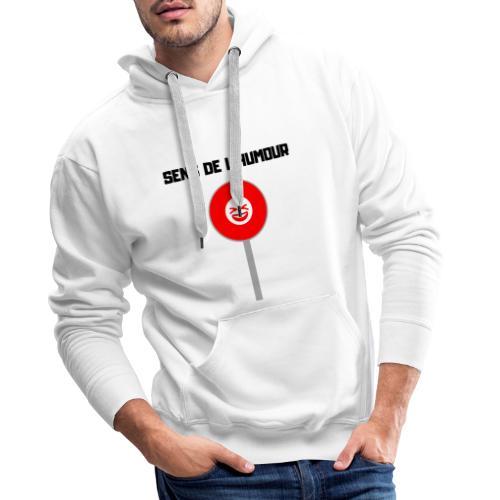 Sens De L'Humour - Sweat-shirt à capuche Premium pour hommes